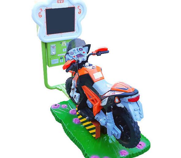 Motocykl na monety, bujak